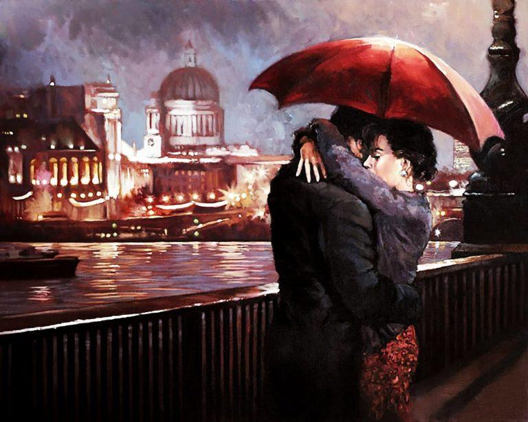 Картинки двое на мосту