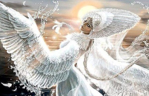 """Набор алмазной вышивки """"Лада-богиня любви и красоты"""""""