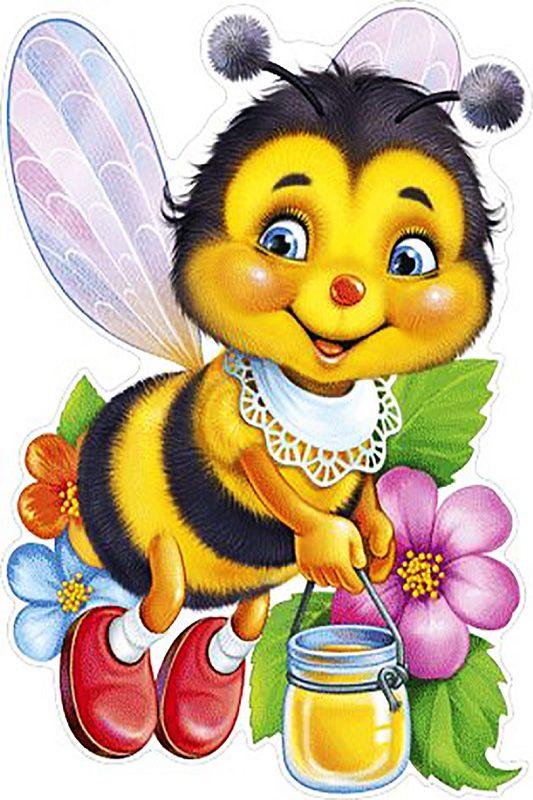 """Набор алмазной вышивки """"Пчелка с медом"""""""