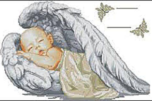 """Набор алмазной вышивки """"Под крыльями Ангела"""""""