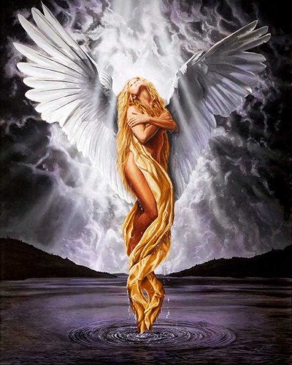 """Набор алмазной вышивки """"Прекрасный Ангел"""""""