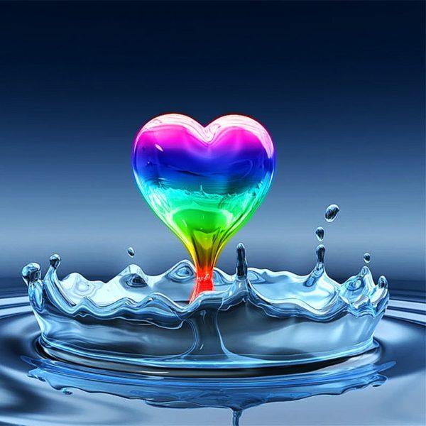 радуга любви-алмазная вышивка Чарівний діамант