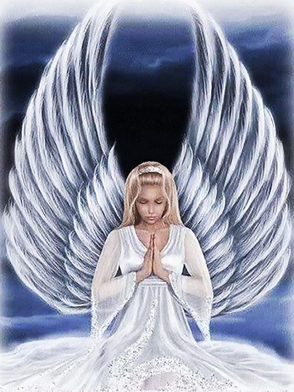 """Набор алмазной вышивки """"Мольба Ангела Хранителя"""""""