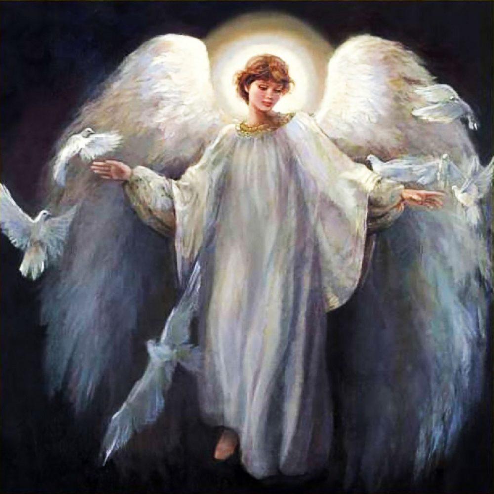 """Набор алмазной вышивки """"Ангел Хранитель"""""""