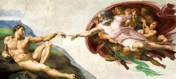 """Набор алмазной вышивки """"Сотворение Адама"""""""