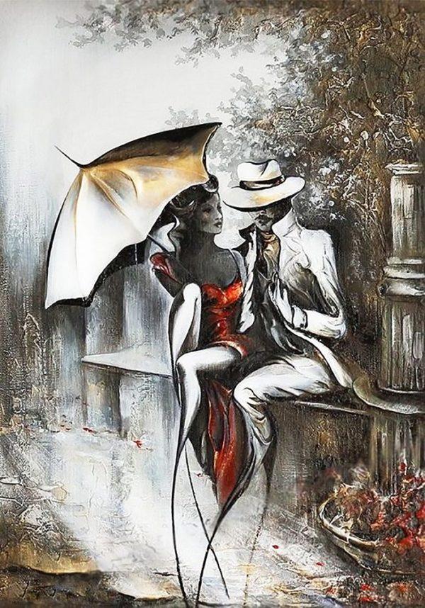 """Набор алмазной вышивки """"Романтическое свидание-2"""""""