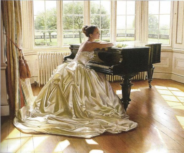 """Набор алмазной вышивки """"За роялем"""""""