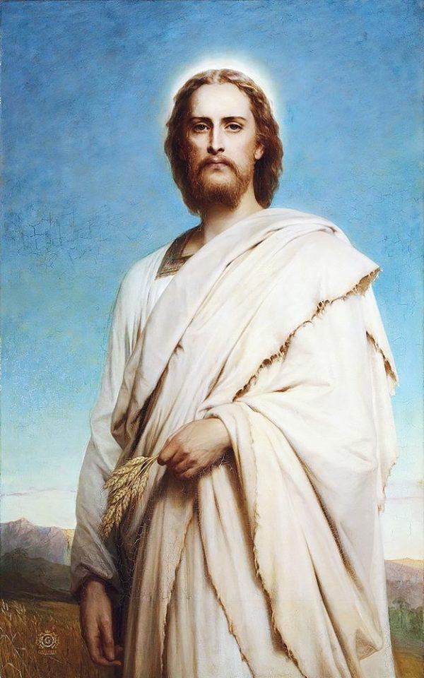 """Набор алмазной вышивки икона """"Иисус на ниве"""""""