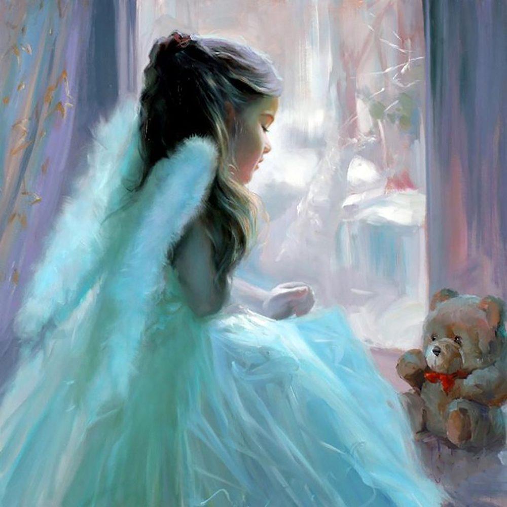 """Набор алмазной вышивки """"Милый Ангелочек"""""""