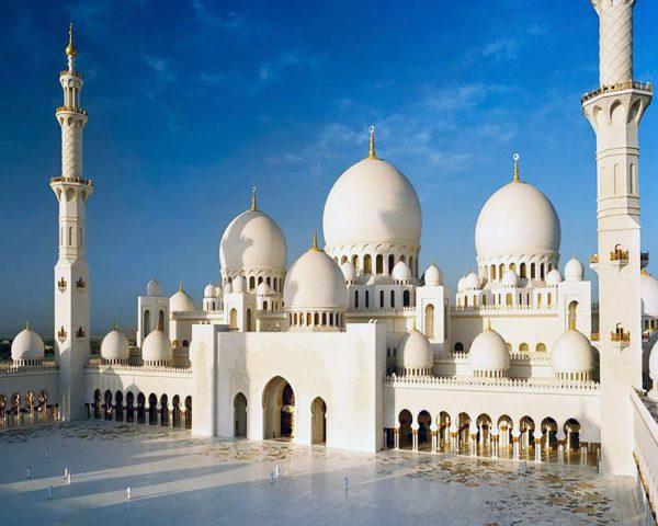 """Набор алмазной вышивки """"Мечеть Абу-Даби"""""""