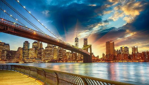 """Набор алмазной вышивки """"Мосты Нью-Йорка-2"""""""