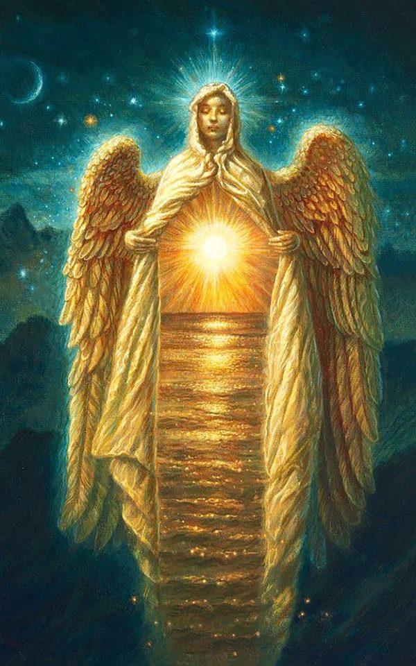 """Набор алмазной вышивки """"Путеводный Ангел"""""""