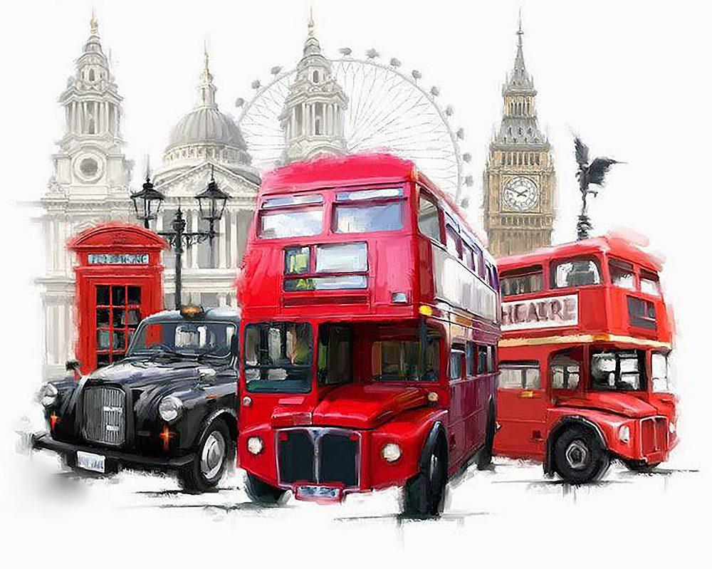 """Набор алмазной вышивки """"Лондон"""""""