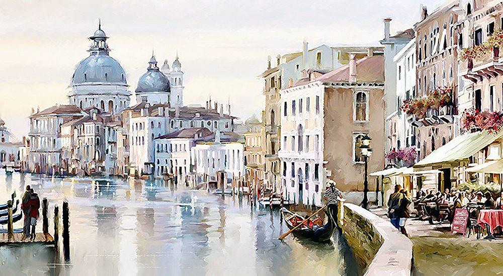"""Набор алмазной вышивки мозаики """"Солнечная Венеция"""""""