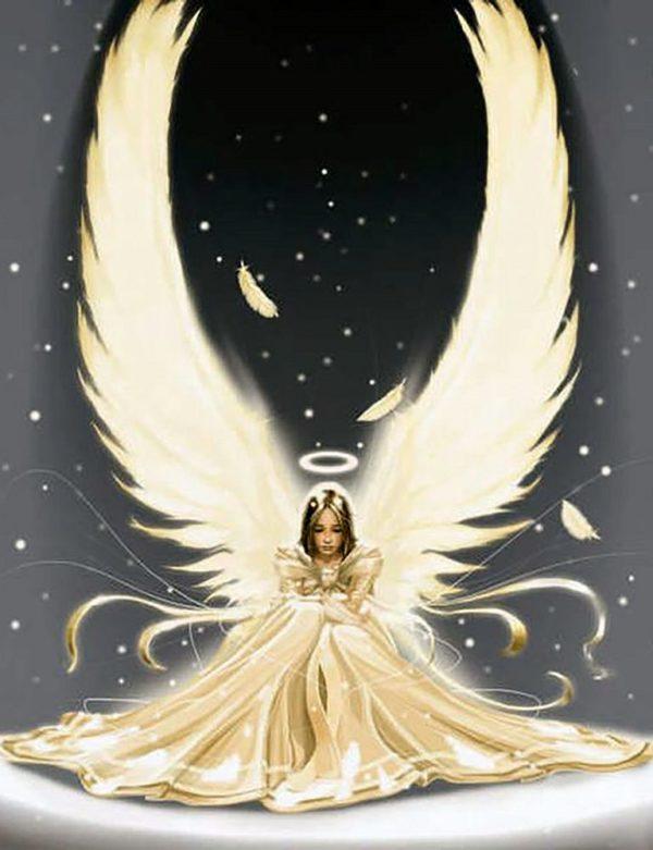 """Набор алмазной вышивки """"Прекрасный Ангел-3"""""""