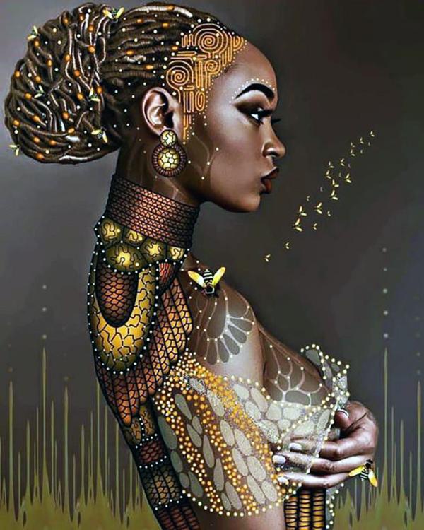 """Набор алмазной вышивки """"Красота Африки"""""""