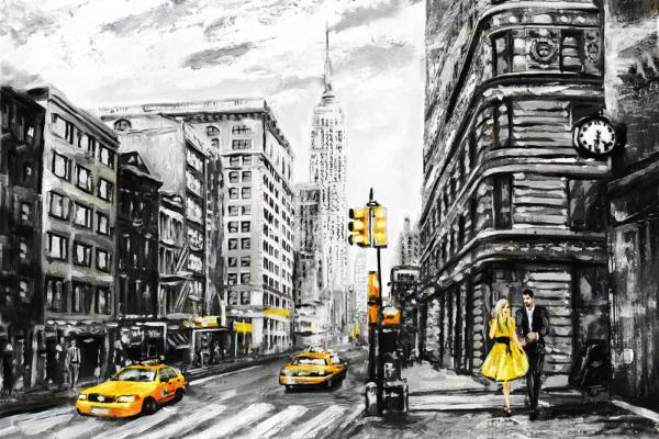 """Набор алмазной вышивки """"Удивительный Нью-Йорк"""""""