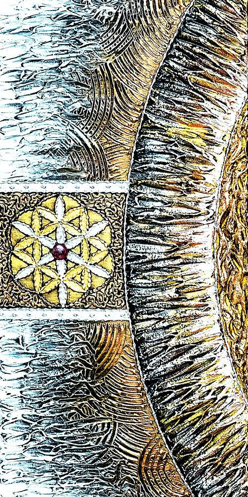 """Набор алмазной вышивки """"Мандала - Дерево Любви в круге Жизни"""""""