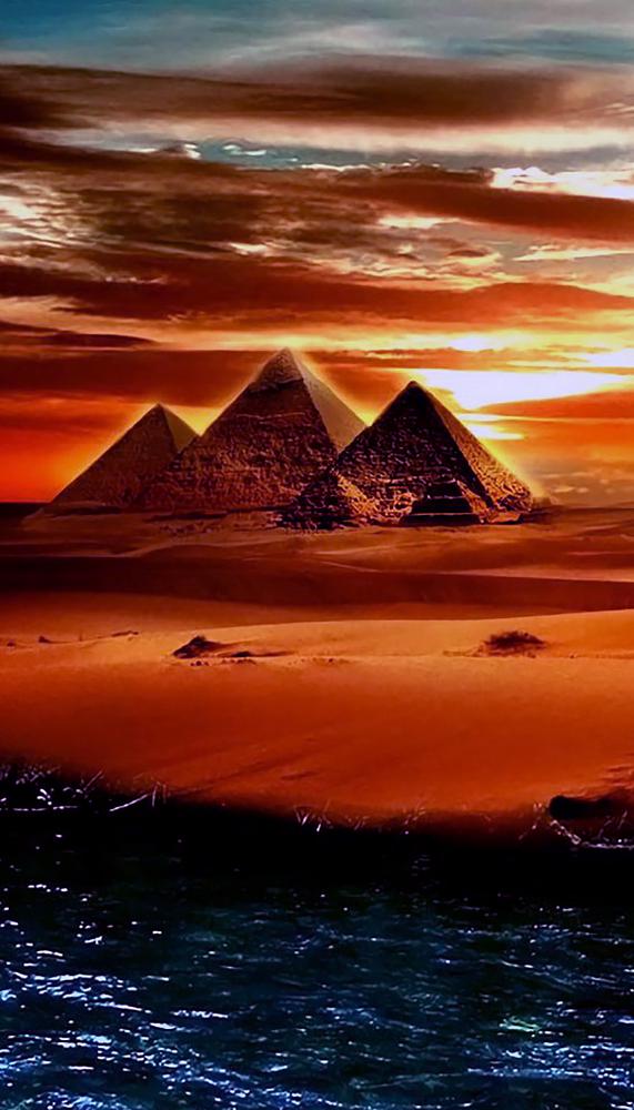 """Набор алмазной вышивки """"Величественный Египет"""""""
