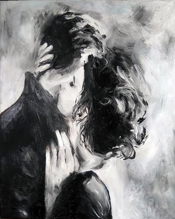 """Набор для рисования картин по номерам """"Поцелуй нежности"""""""