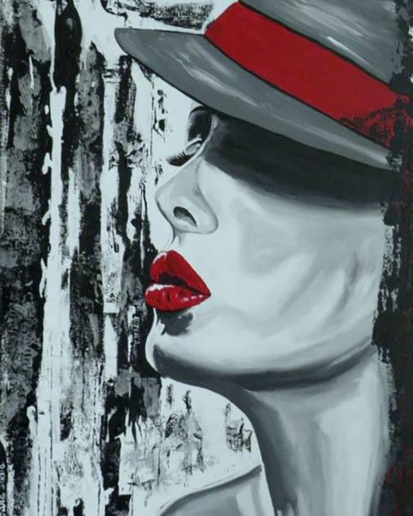 """Набор для рисования картин по номерам """"Портрет-Цвет любви"""""""